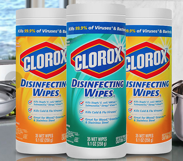 Clorex Antiseptic Wipes
