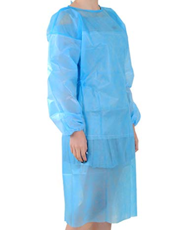 Disposable PP Isolation Gown 25gsm Level 2 (Click to view Price for 1,000 order and Above)