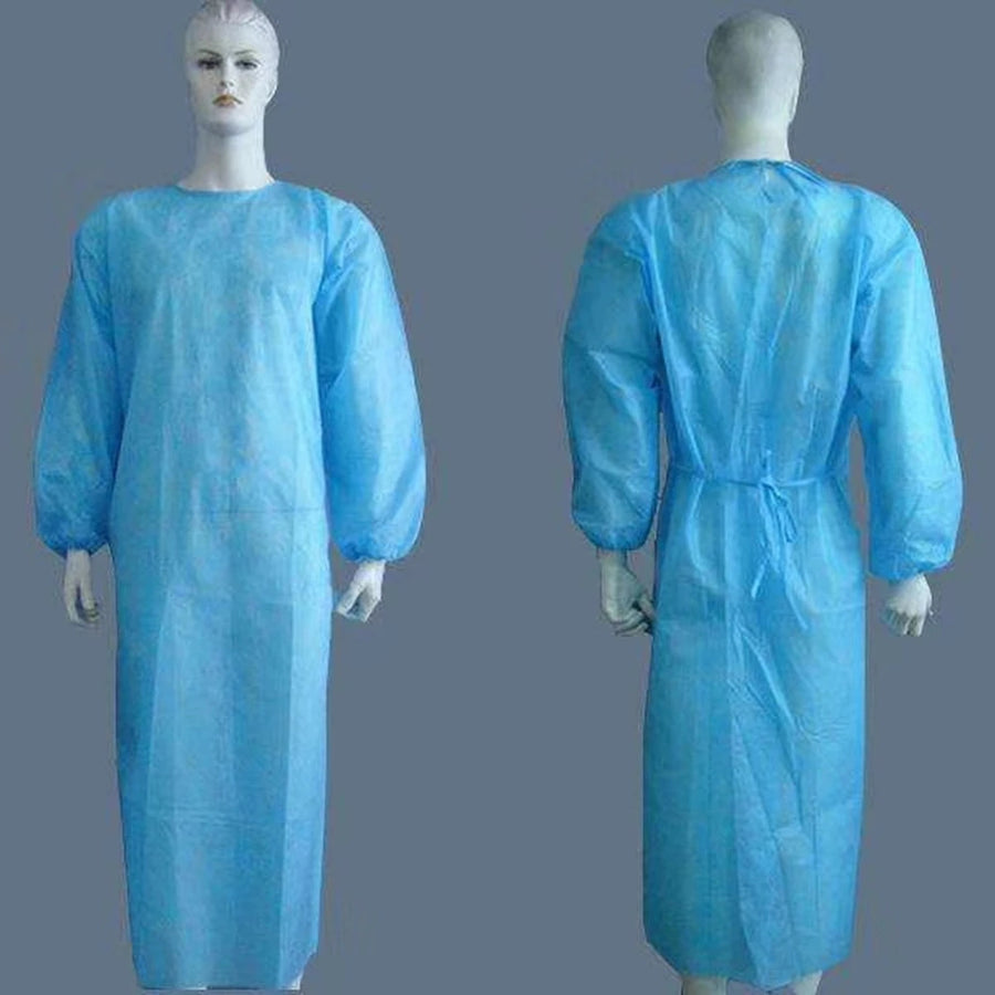 Disposable PE Gown 35gsm level 2 (Click to view Price for 1,000 order and Above)