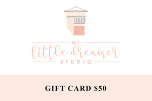 My Little Dreamer Studio Gift Card $50