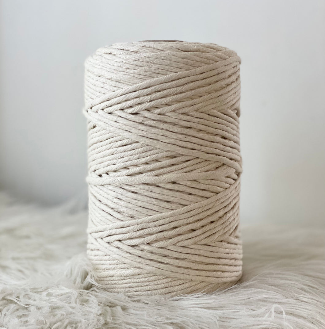 Macrame Cotton Natural 1kg