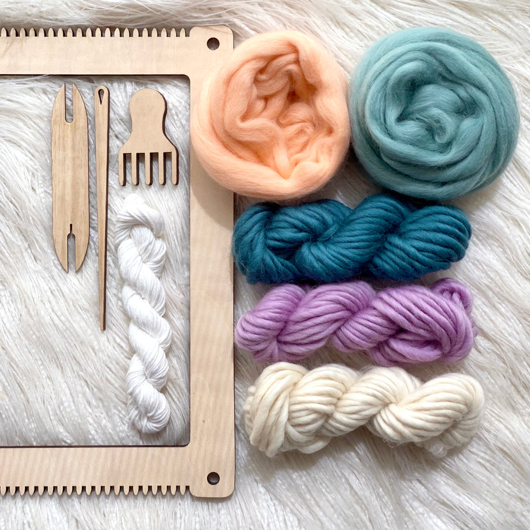 Children's Weaving Kit + Digital Ebook