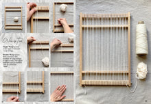 Load image into Gallery viewer, Weaving Kit Beginner + Digital Ebook