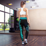 Avatar Sea Turtle Yoga Leggings