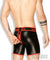 Zippered rear cycling shorts