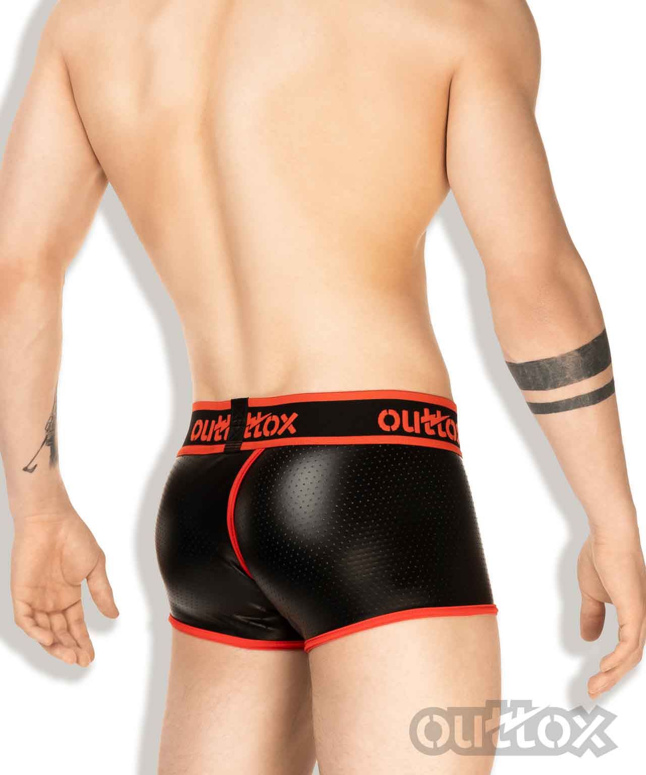 Wrapped-rear trunk shorts