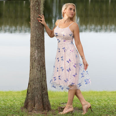 Iridescent Butterfly Dress - LottiLove Dresses