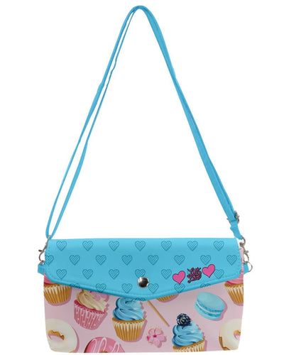 Sugar Rush Removable Strap Clutch Bag - LottiLove Accessories
