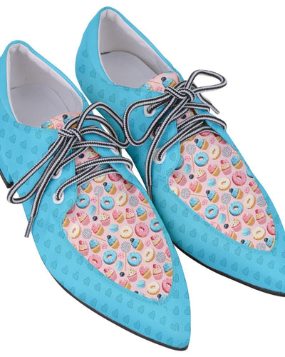 Womens Oxford - Sugar Rush - LottiLove Made to Order