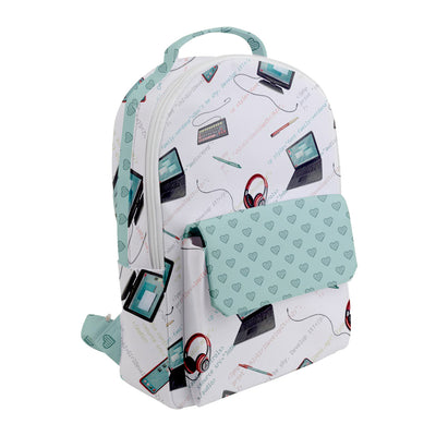 Girl Develop It x LottiLove - Small Flap Pocket Backpack - LottiLove Made to Order