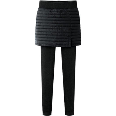 Women One Piece Pull On Skirt Leggings - LottiLove Bottoms