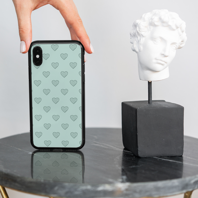 Girl Develop It x LottiLove Phone Case - Heart Pattern - LottiLove Made to Order