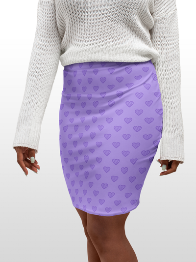 Bodycon Skirt - RIP Deux - LottiLove Made to Order