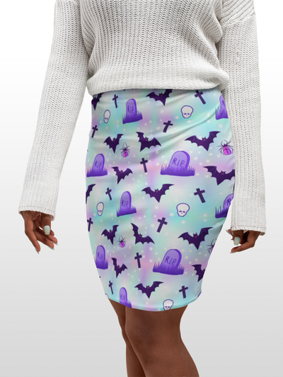 Bodycon Skirt - RIP - LottiLove Made to Order