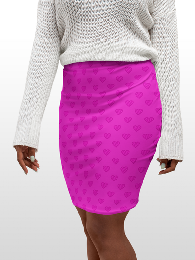 Bodycon Skirt - Oh No Deux - LottiLove Made to Order