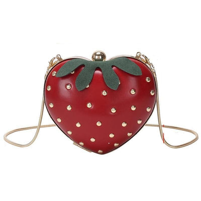 Strawberry Crossbody - LottiLove Accessories