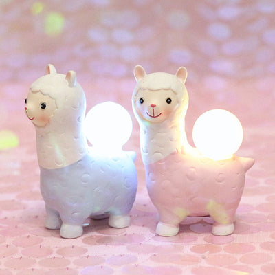 Cute Alpaca Night Lights - LottiLove Decor
