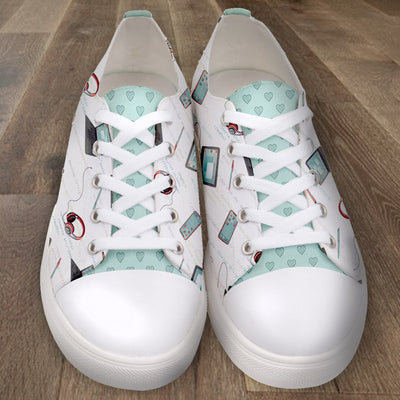 Girl Develop It x LottiLove - Low Top Sneakers - LottiLove Made to Order
