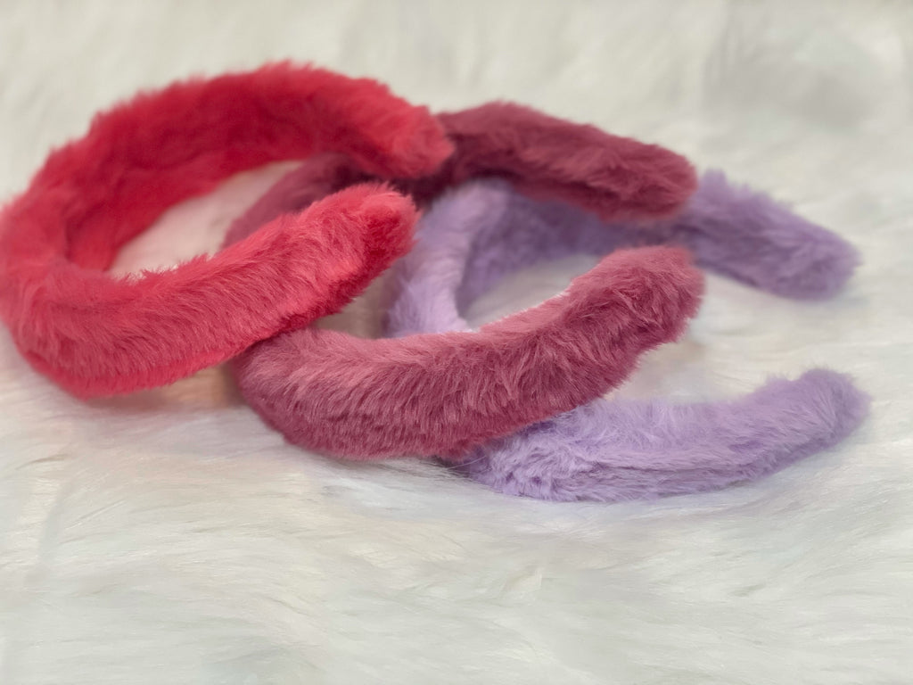 Plush Hairbands