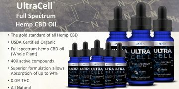 Zilis Ultra Cell Full Spectrum Hemp CBD Oil