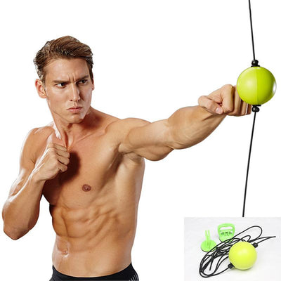 Boxing Speed Ball The Fitness Trainer Store Yellow