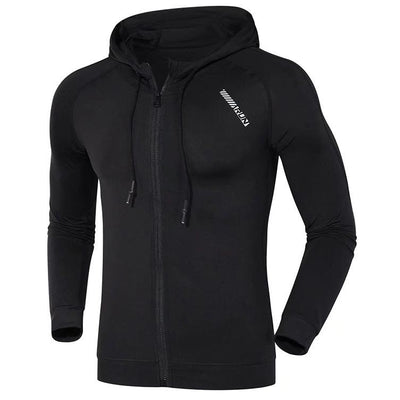 Cardigan Hooded The Fitness Trainer Store
