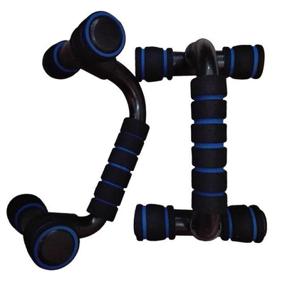 Fitness Push Up Bar The Fitness Trainer Store Blue