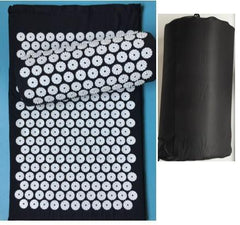 Massage Mat The Fitness Trainer Store Black