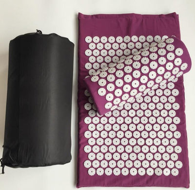 Massage Mat The Fitness Trainer Store Purple
