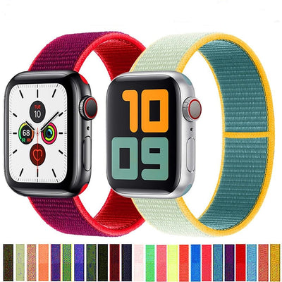 Nylon Apple Watch Band The Fitness Trainer Store