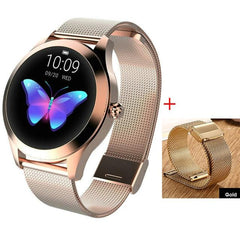 Smart Watch Women The Fitness Trainer Store Gold+ Gold Band