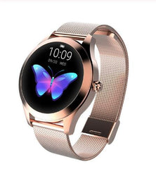 Smart Watch Women The Fitness Trainer Store Gold Metal