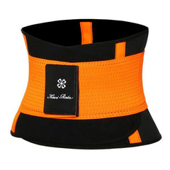 Waist clincher corsets The Fitness Trainer Store Orange S