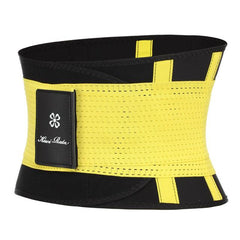 Waist clincher corsets The Fitness Trainer Store Yellow XXL