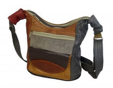 Load image into Gallery viewer, Ladies' Multicolour Genuine Leather handbags