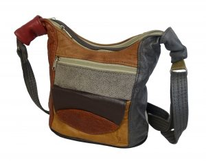 Ladies' Multicolour Genuine Leather handbags