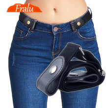 Load image into Gallery viewer, Ladies' Buckle-Free Belt For Jeans, Pants & Dresses