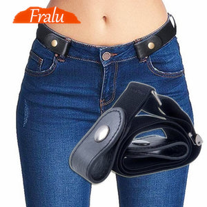 Ladies' Buckle-Free Belt For Jeans, Pants & Dresses