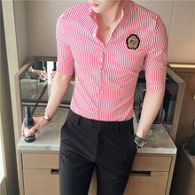 Load image into Gallery viewer, Half Sleeve Slim Fit Men's Summer Shirts