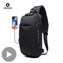 Load image into Gallery viewer, Luxury Messenger Sling Bag