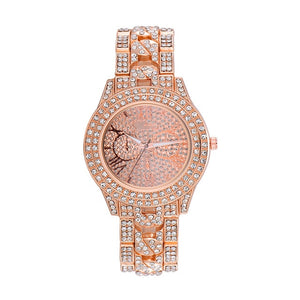Hip Hop Luxury Men's Iced Out Watches