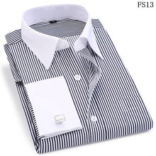 Load image into Gallery viewer, High Quality Striped Men's Long Sleeved Shirts