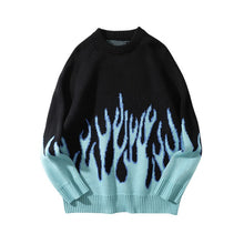 Load image into Gallery viewer, DARK ICON Blue Flame Men's Sweater