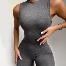 Load image into Gallery viewer, Simenual Casual Sleeveless Jumpsuits