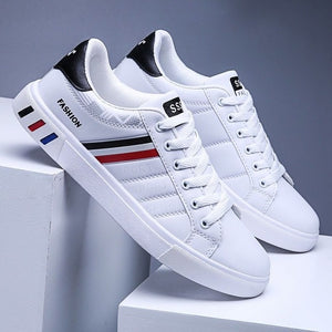 Men's White Casual Sneakers