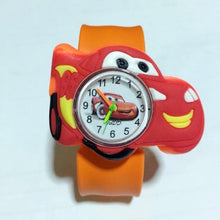 Load image into Gallery viewer, Children Cartoon Car Watch