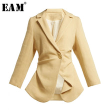 Load image into Gallery viewer, [EAM] Loose Fit Short Jacket
