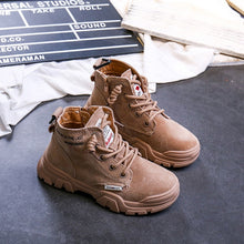 Load image into Gallery viewer, Kids High Top Casual Boots