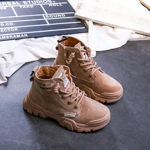Kids High Top Casual Boots