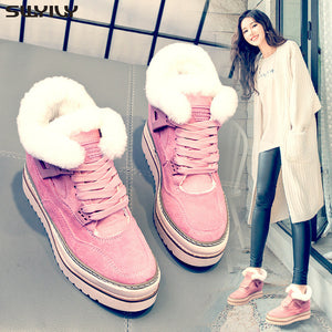 Women's Winter Fashion Casual Shoes